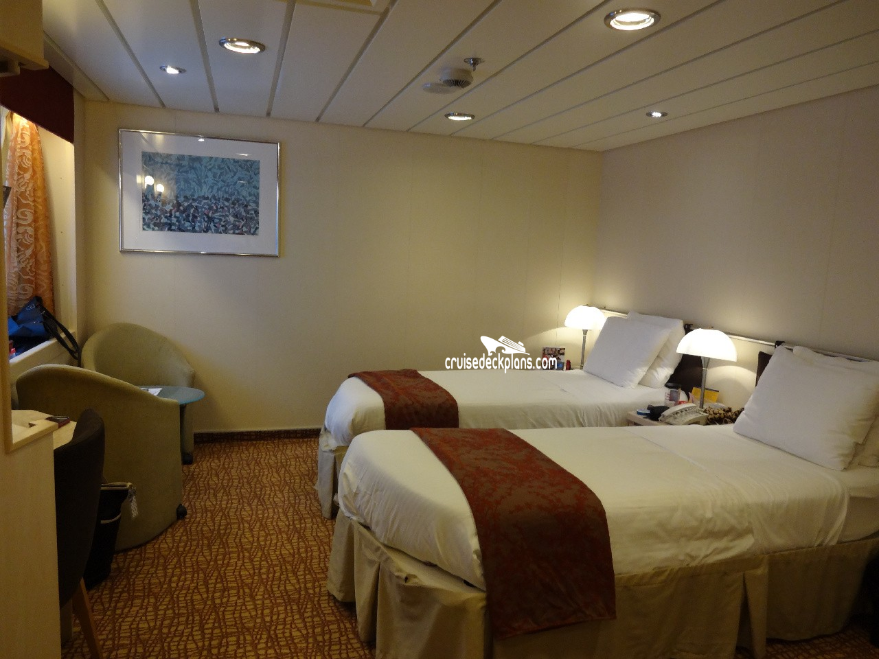 Concierge Class Cabins on Constellation Deck 8 Analyzed ...