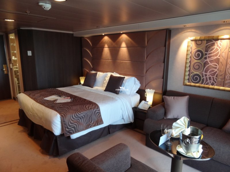 Img:60339 -- Yacht Club Suite stateroom and cabin picture. Join our ...