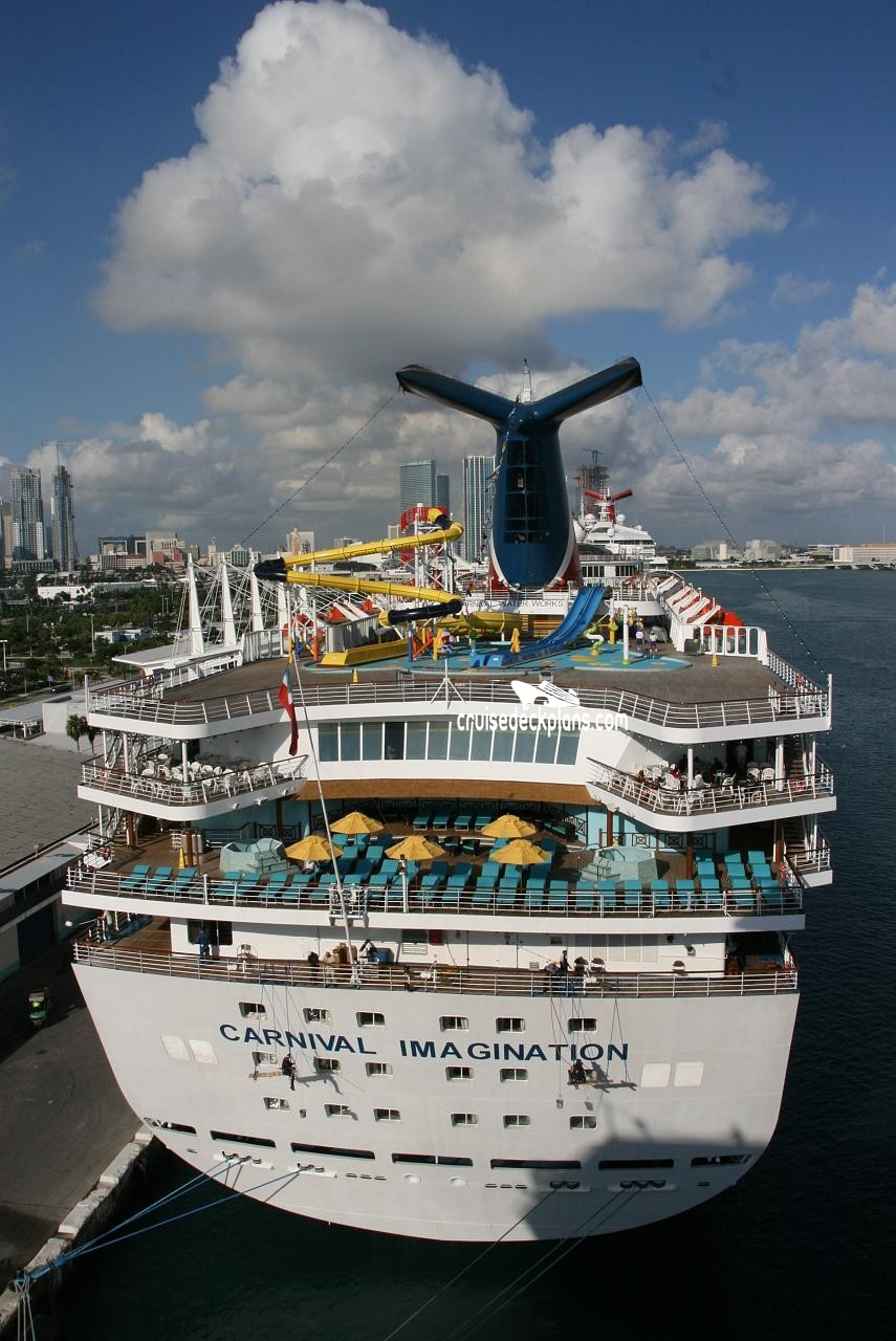 Carnival imagination - photo tour, guide and commentary page 3