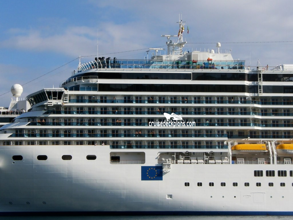 Costa Luminosa Deck Plans Diagrams Pictures Video