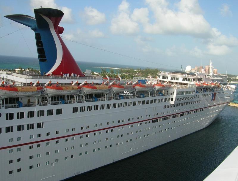 Carnival Fascination Ship Deck Plans