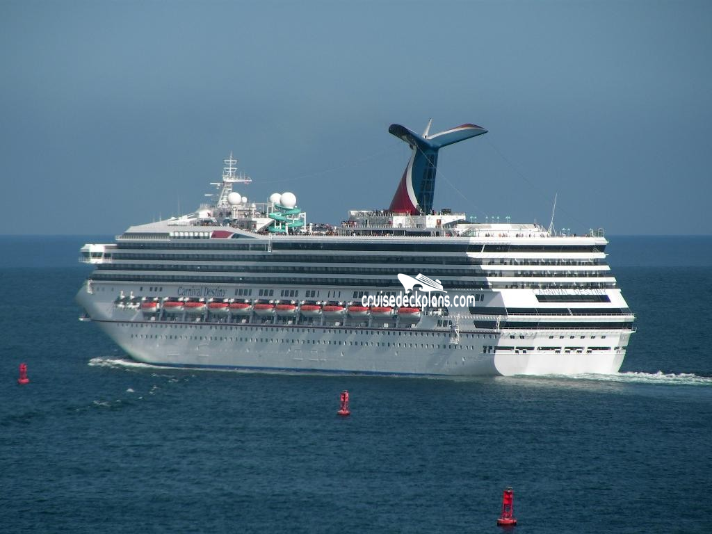 Carnival Destiny Deck Plans Diagrams Pictures Video