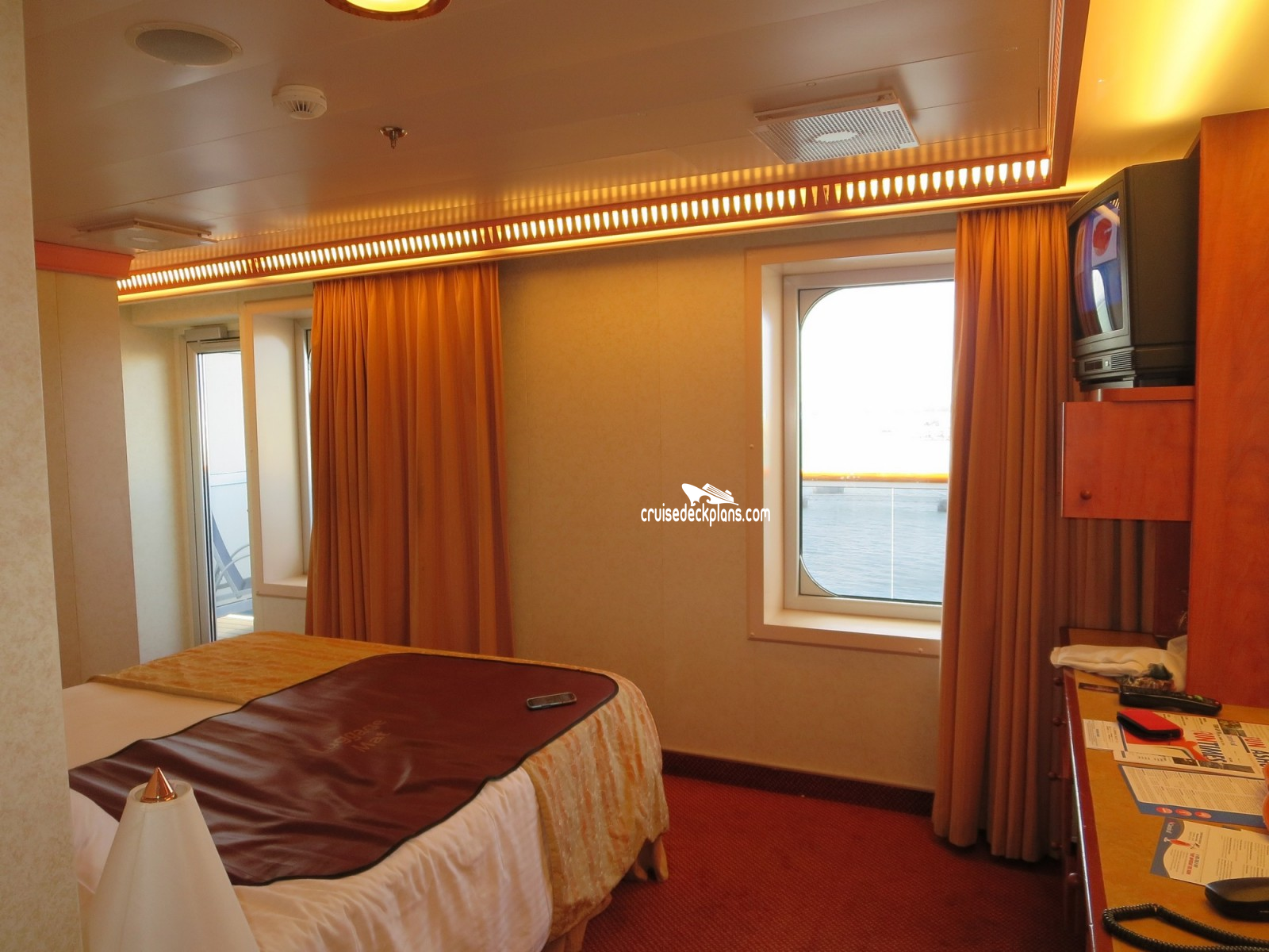 18 Carnival Valor Deck Plans Cabin