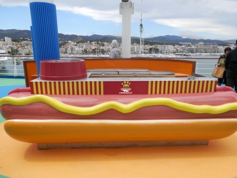 Carnival Sunshine Deck 11 Deck Plan Tour
