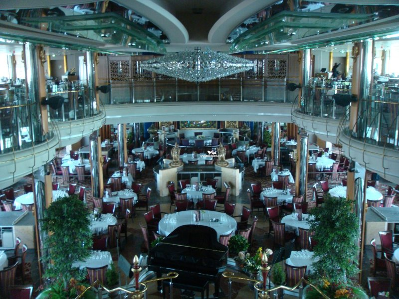 Freemans Dining Room Bar And Deck Splendour Of The Seas Plan Tour