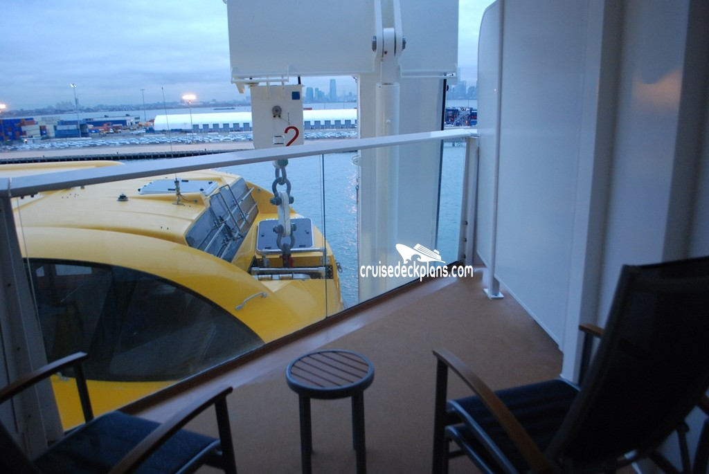 SILHOUETTE Obstructed view cabins - Celebrity Cruises ...