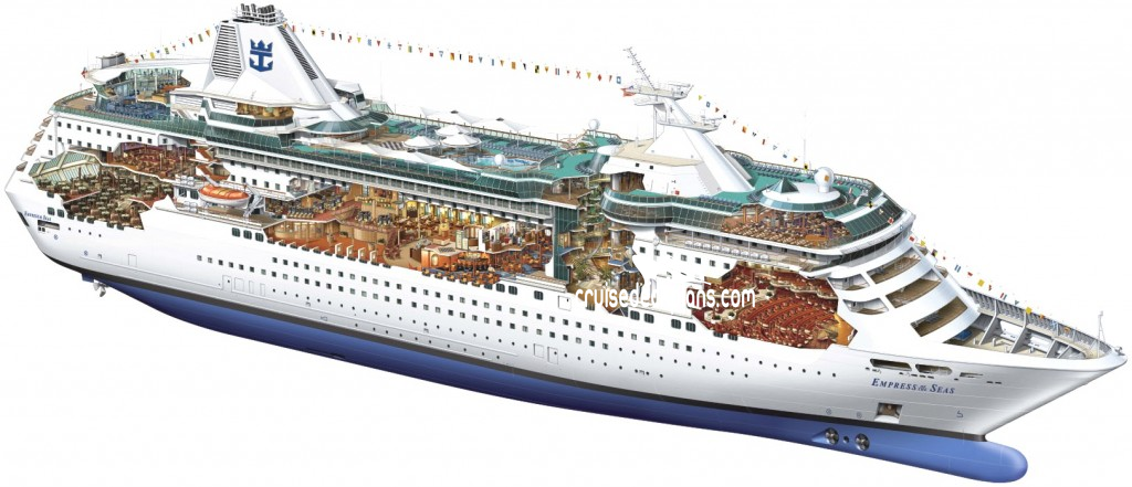 Empress Of The Seas Deck Plans Diagrams Pictures Video