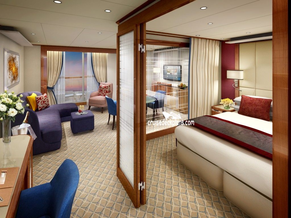 Seabourn Ovation Deck Plans Diagrams Pictures Video