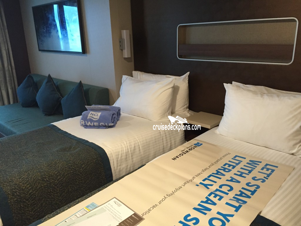 Norwegian Breakaway Plus Class Balcony