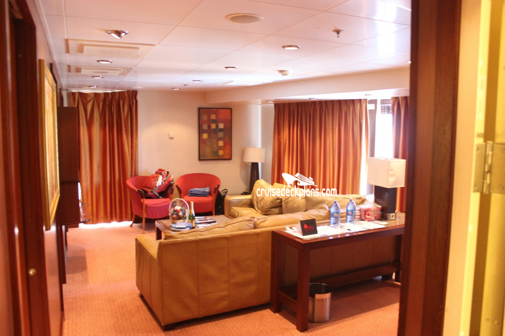 Carnival Liberty Captains Suite Category