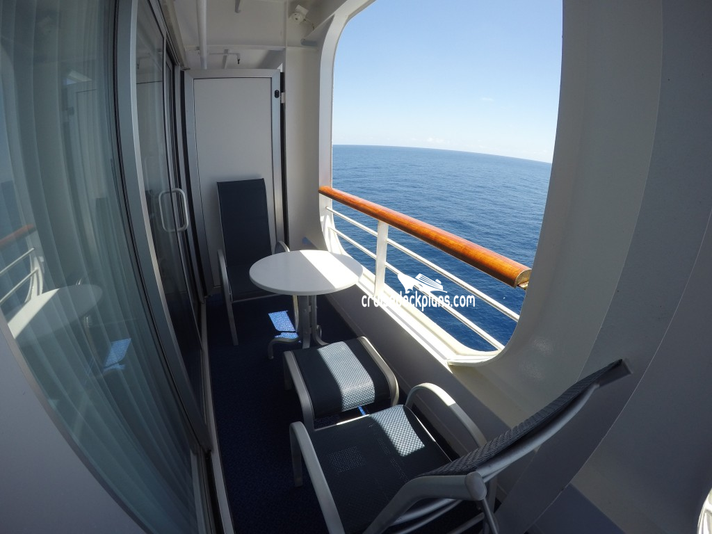 Sea princess mini suite category for What is a balcony