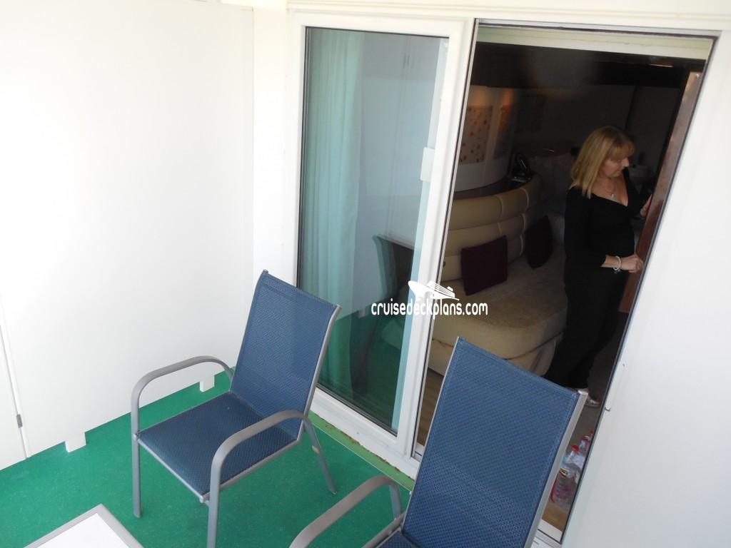 Norwegian Epic Deck 8 Deck Plan Tour