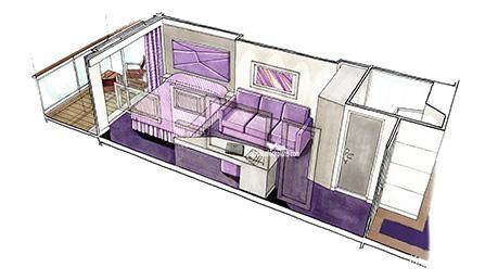 MSC Seaside Deck Plans - Cabin Diagrams - Pictures