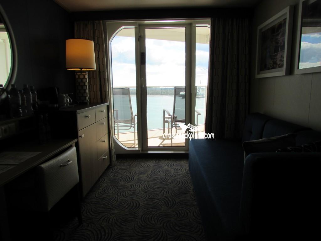 Ovation of the seas balcony category for Balcony stateroom