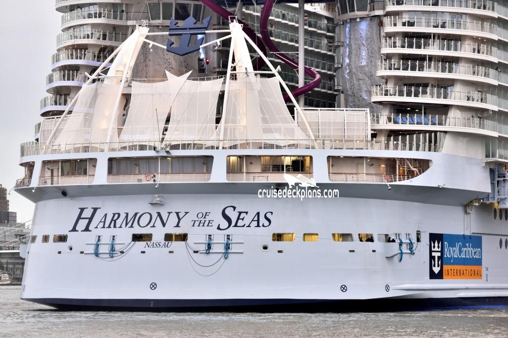 Harmony Of The Seas Deck 6 Deck Plan Tour