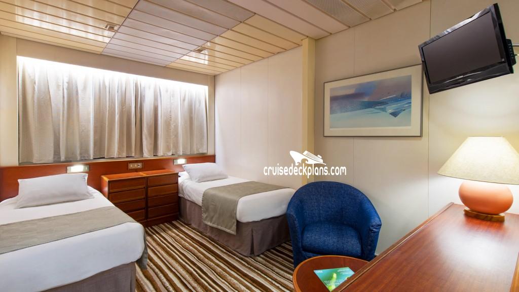 Pacific Explorer Deck Plans Cabin Diagrams Pictures