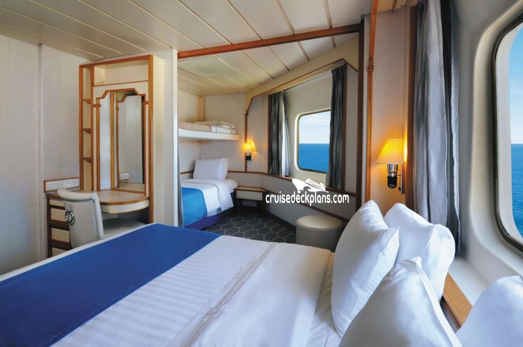 Empress Of The Seas Deck 8 Deck Plan Tour