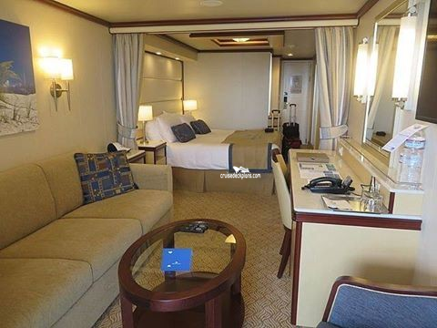 Regal princess mini suite category for Cruise balcony vs suite