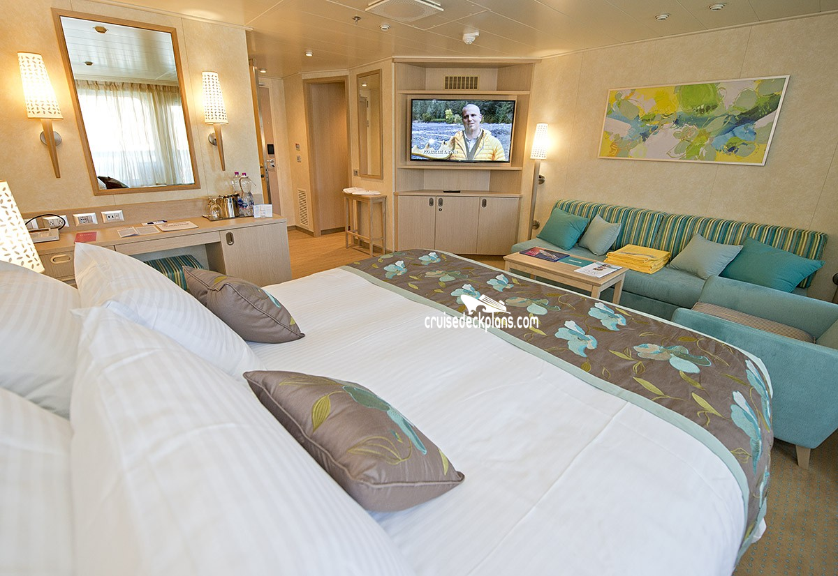 Carnival Vista Ocean Suite Category