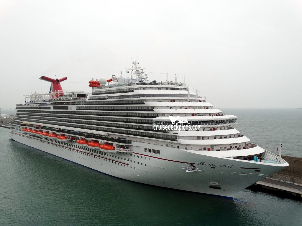 Carnival Vista Deck Plans Diagrams Pictures Video