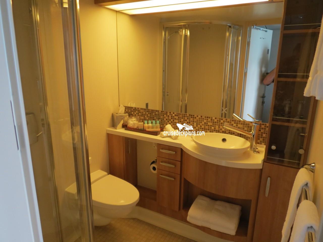 Celebrity Solstice Cabin 1263 - Category C3 - Concierge ...