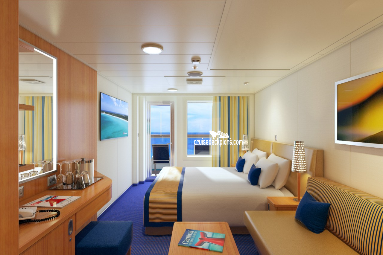 Cove Balcony Room On Carnival Magic – Best Balcony Design Ideas Latest