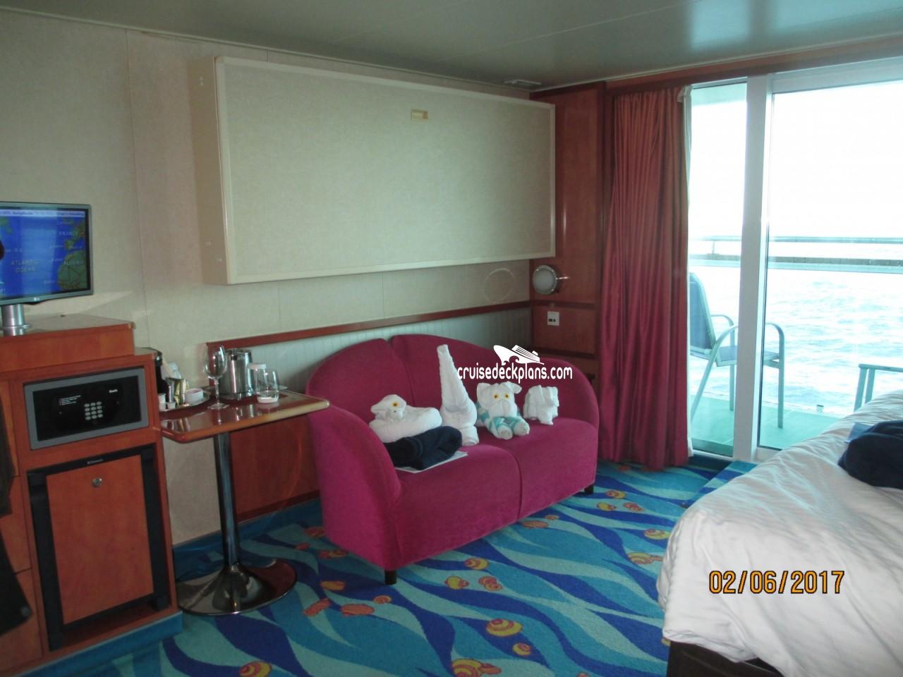 Norwegian gem balcony category for Balcony stateroom