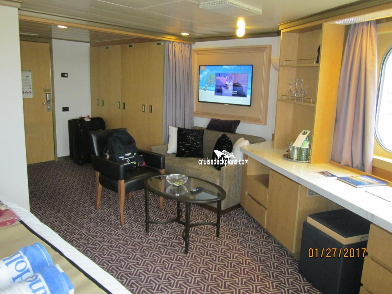 Oosterdam Superior Verandah Suite Details