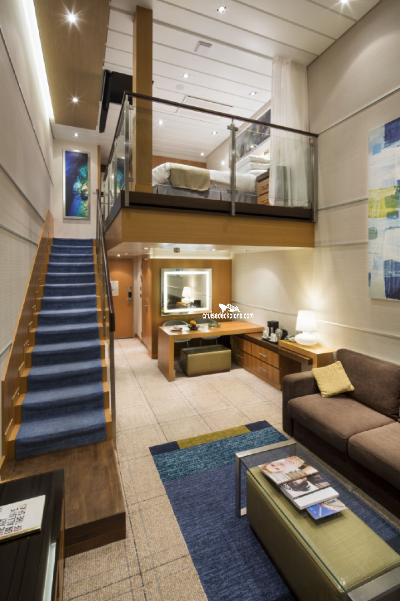 Allure Of The Seas Deck Plans Diagrams Pictures Video