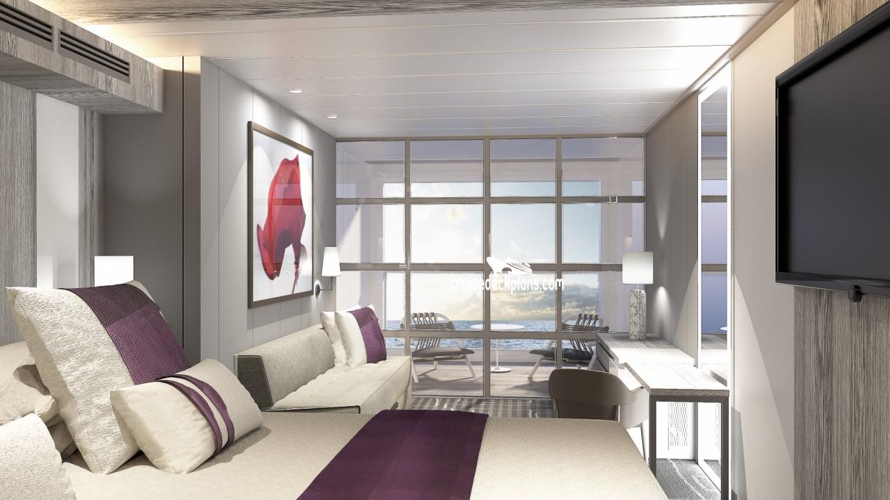 Celebrity aqua suites