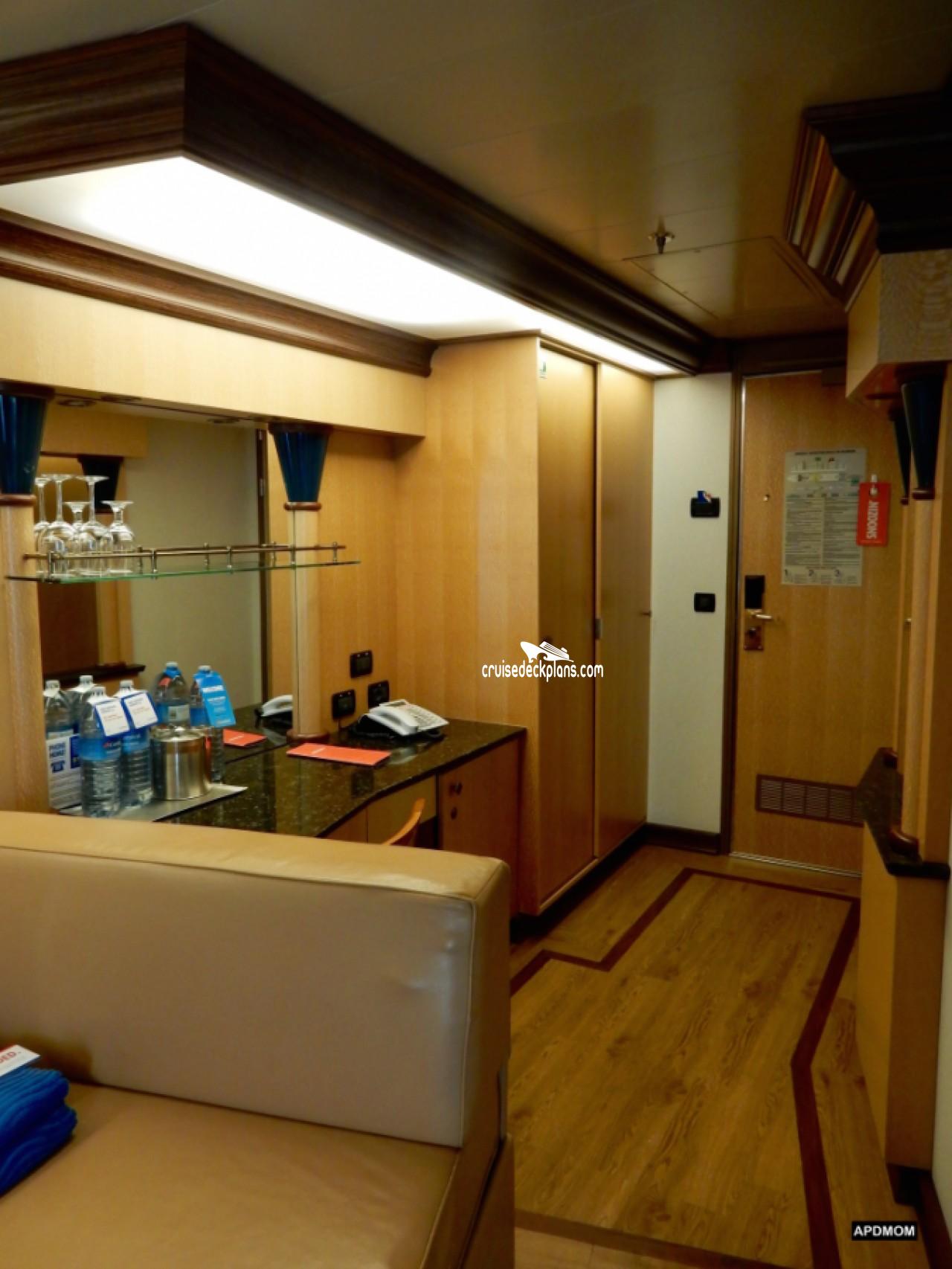 Carnival Magic Ocean Suite Stateroom