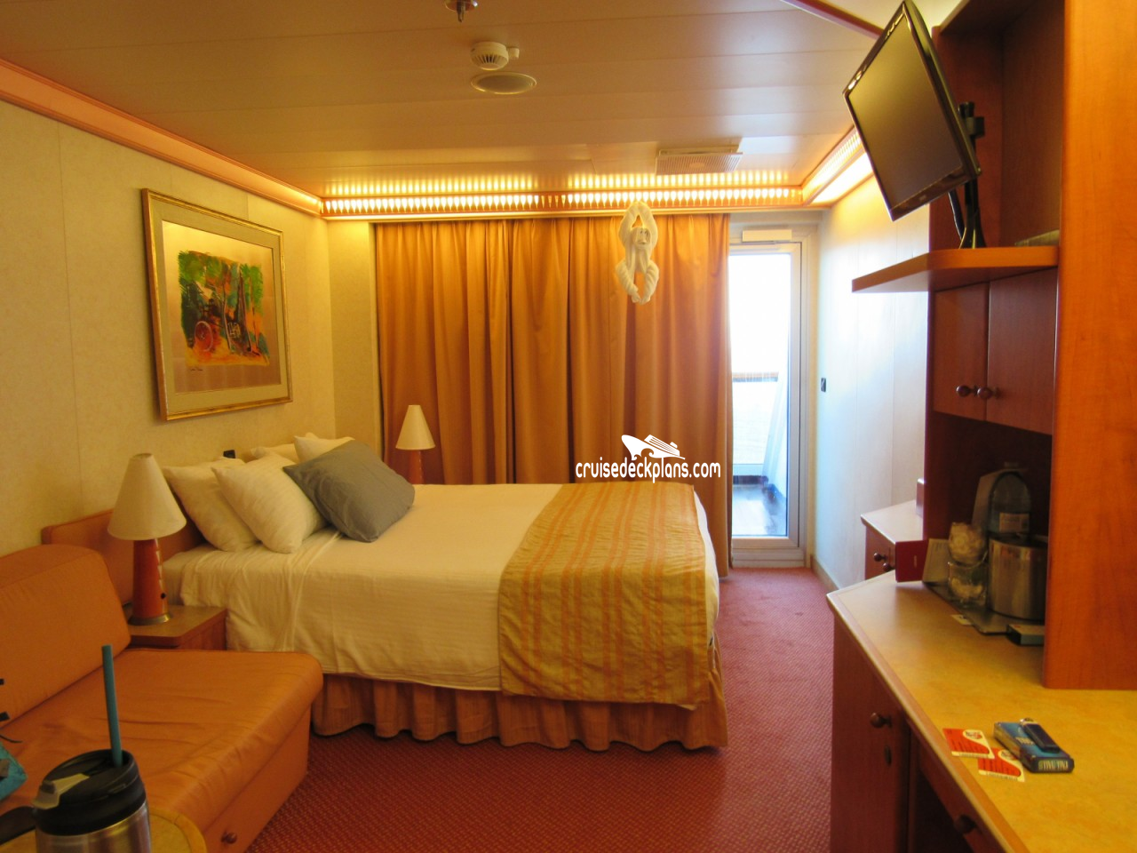 Carnival conquest balcony stateroom for Balcony stateroom