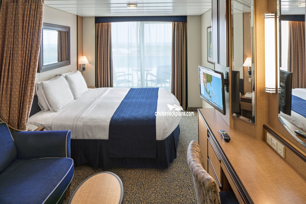 Cabin 9074 with balcony liberty of seas royal caribbean for Definition of a balcony