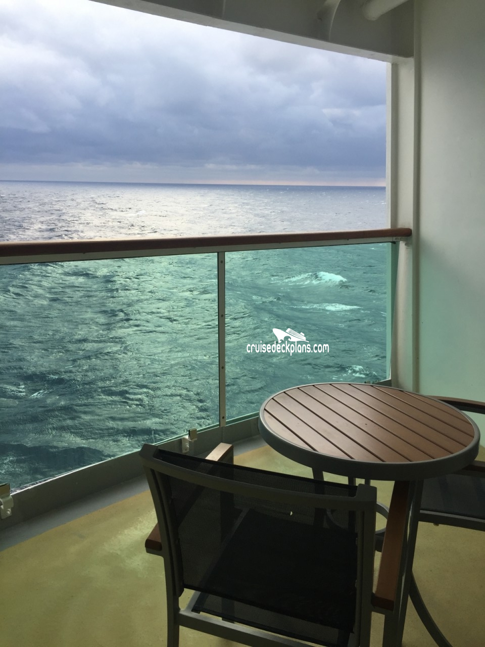 Brilliance of the seas balcony category for Deluxe balcony