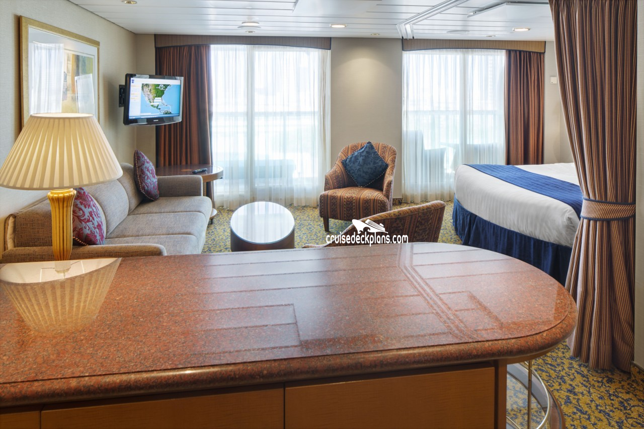Brilliance Of The Seas Grand Suite 1 Bedroom Stateroom