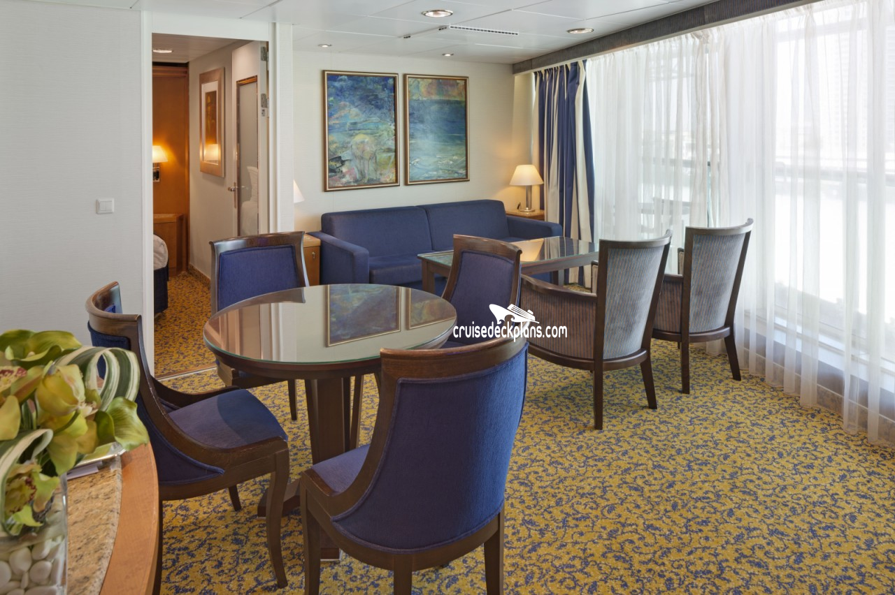 Brilliance Of The Seas Royal Family Suite Details