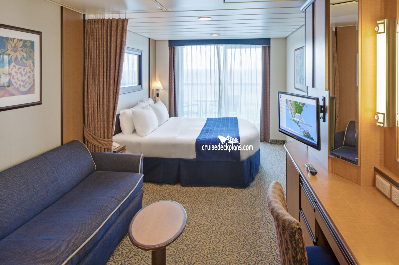 Brilliance of the seas spacious balcony category for Balcony stateroom