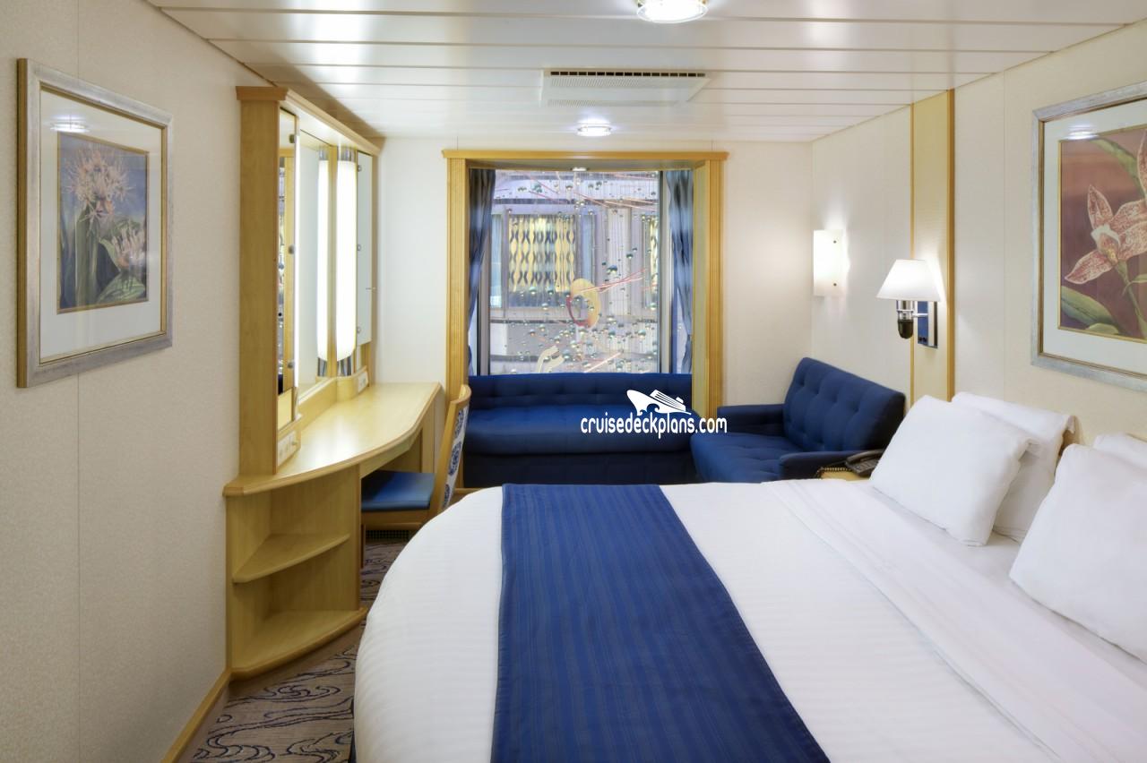 navigator of the seas promenade view interior category