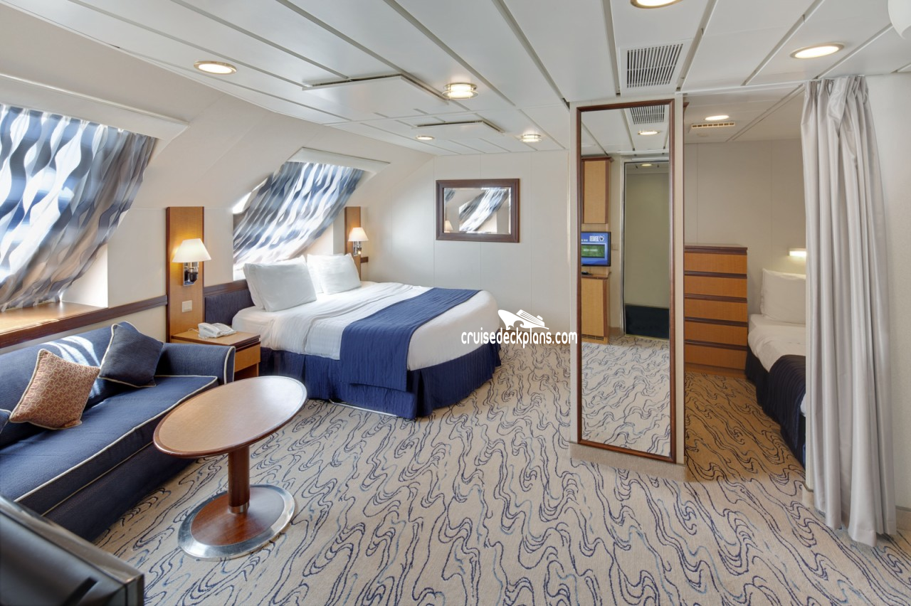 Jewel Of The Seas Ultra Spacious Oceanview Stateroom