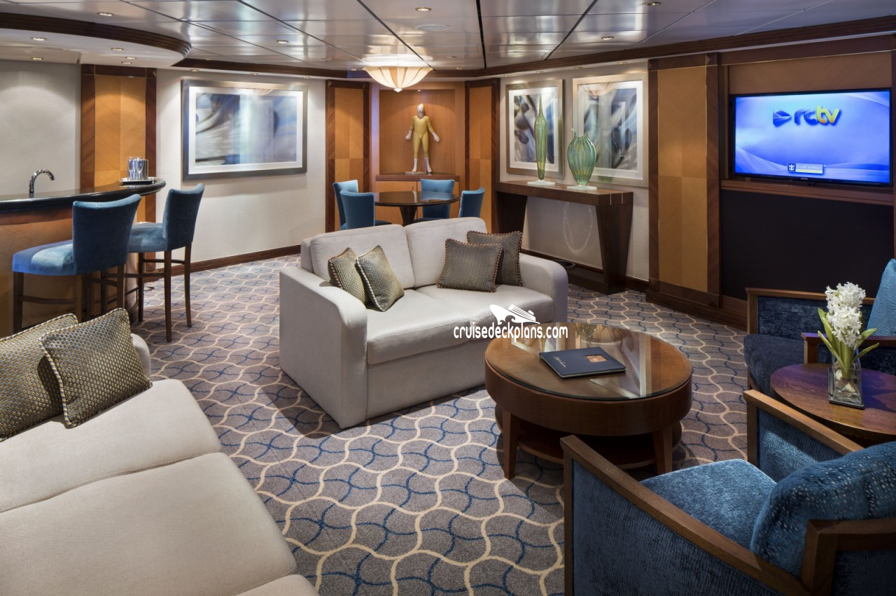 Jewel Of The Seas Royal Suite Stateroom