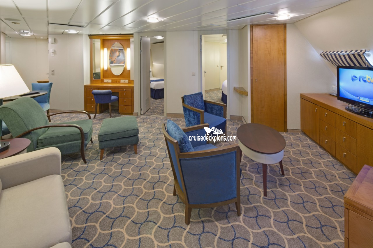 Radiance Of The Seas Two Bedroom Suite