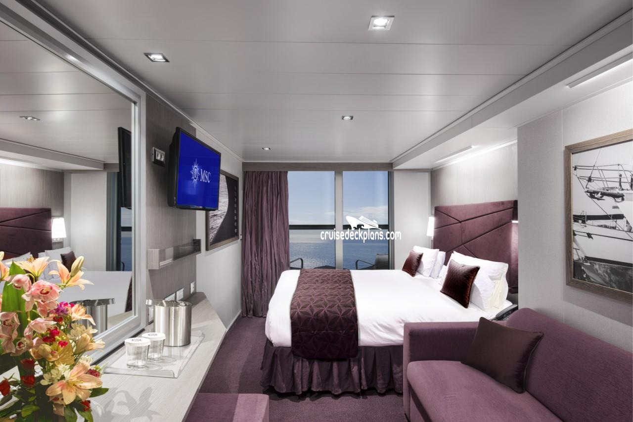 Msc Seaside Deck 11 Deck Plan Tour