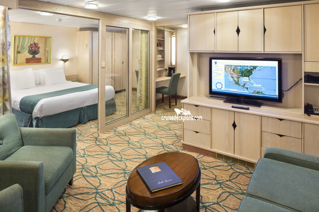 Rhapsody of the Seas Grand Suite - 2 Bedroom Category