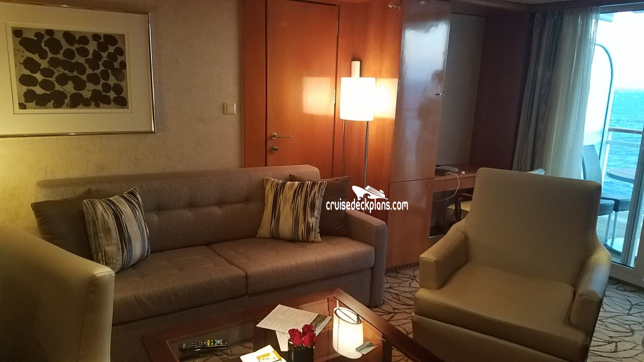 Suite 6134 on Celebrity Constellation, Category YY