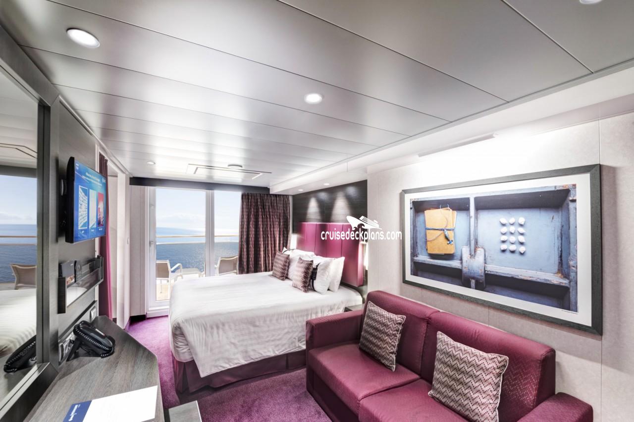 Msc meraviglia family balcony stateroom for 123 cabins