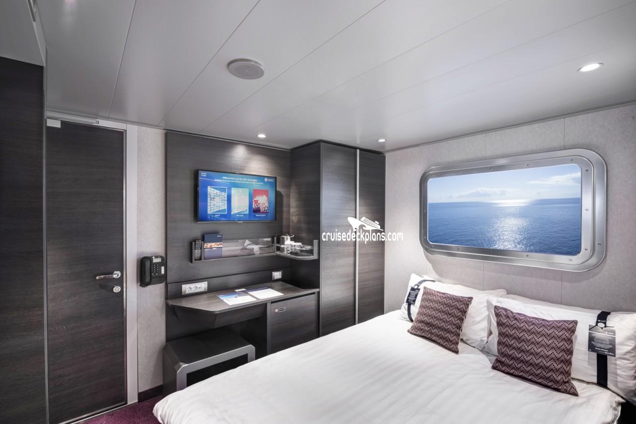 Msc meraviglia single interior category for 123 cabins