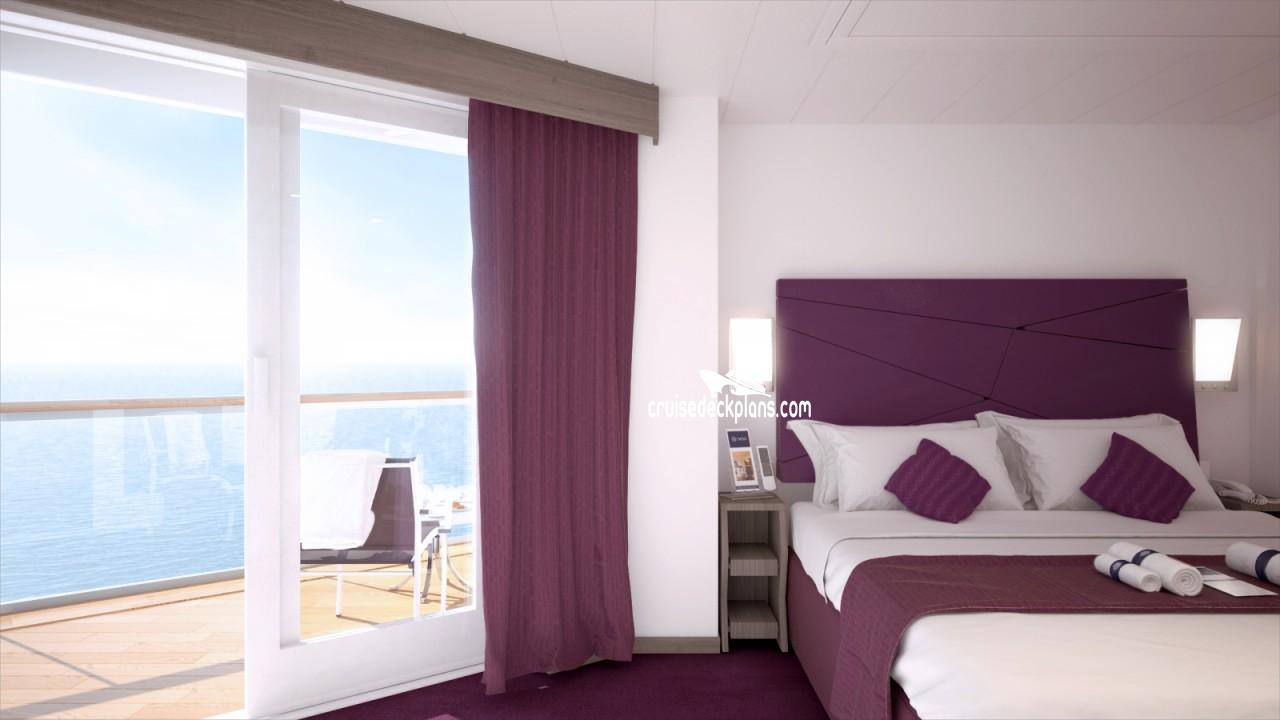 MSC Seaview Seaside-Suite Details