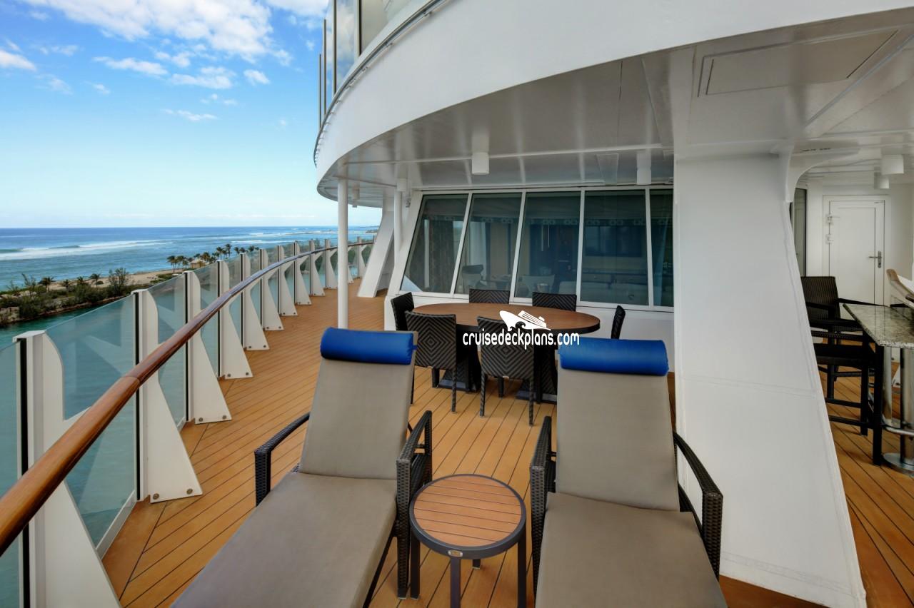 Harmony Of The Seas Aqua Theater Suite 2 Bedroom Stateroom