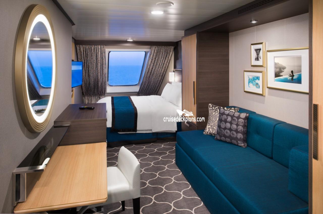 Harmony Of The Seas Oceanview Category