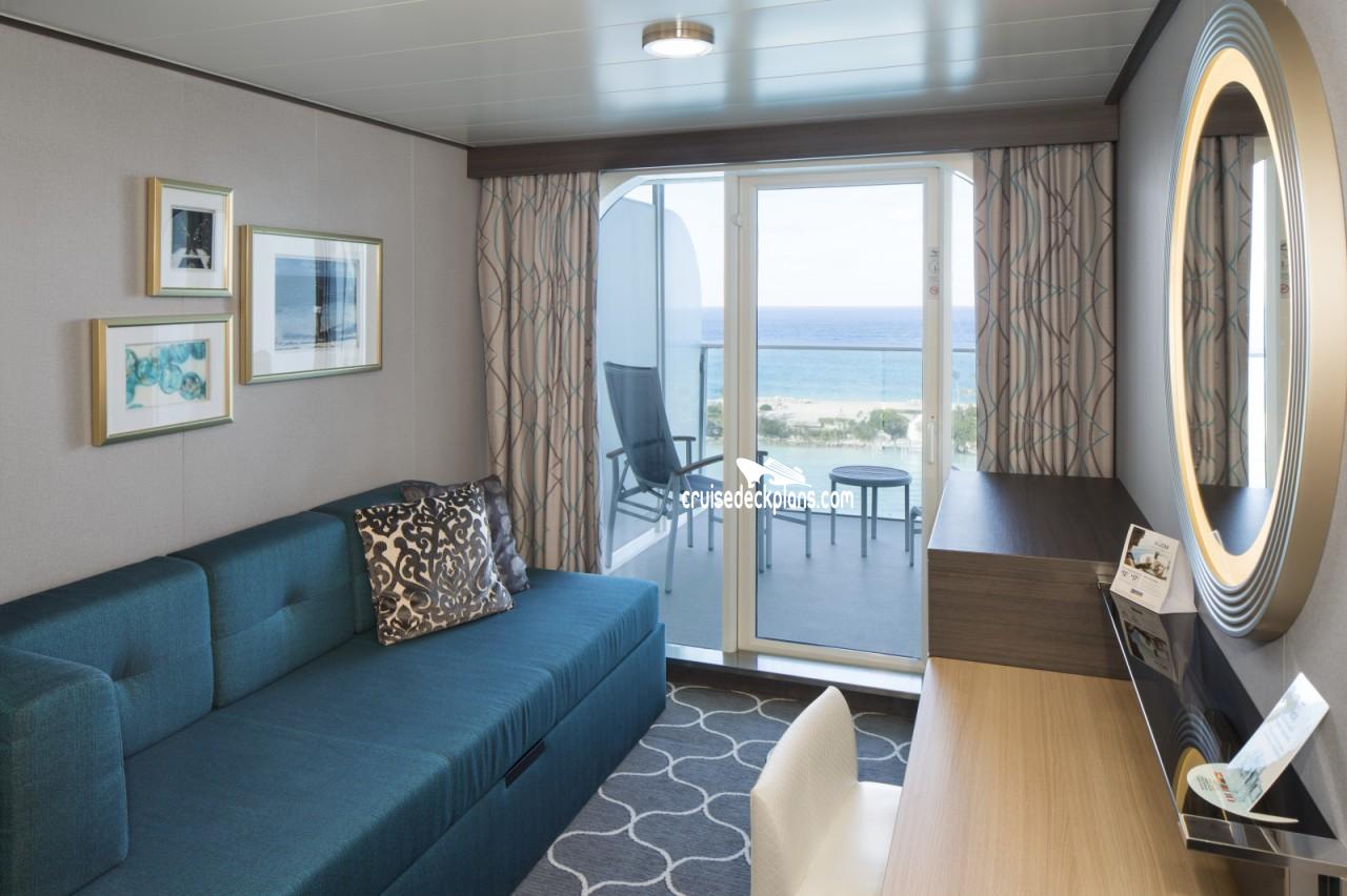 Symphony Of The Seas Spacious Balcony Stateroom